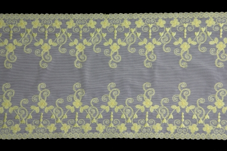 lacework: lacework line on black background