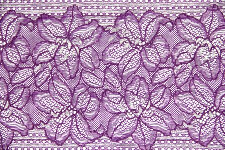 lacework: lacework line on white background Stock Photo
