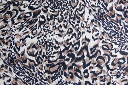 background with Leopard skin pattern