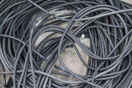 electric cables  industrial wire Stock Photo - 14922668