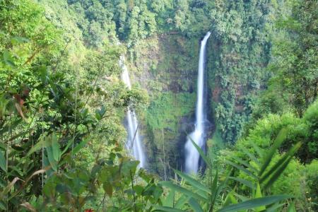Waterfall at southern of laos photo