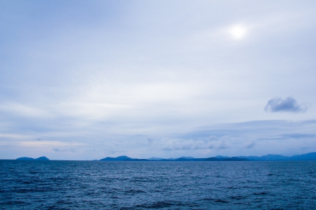 blue sea horizon ocean  water surface Stock Photo - 16148688