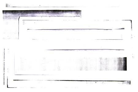 Photocopiers border on white background Standard-Bild