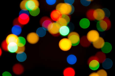 background of Christmas light Stock Photo