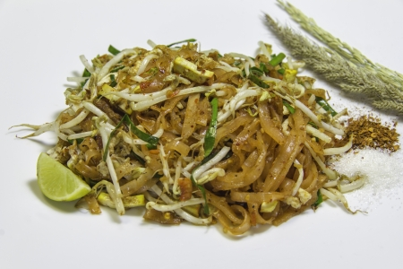 pad thai ,thai food Stock Photo - 16428487