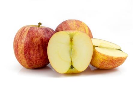 apple fruits isolated on white background Stock Photo