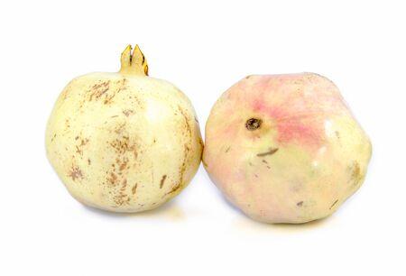 pomegranate isolated on white backgroun