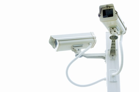isolate Security Camera ,CCTV on the pole