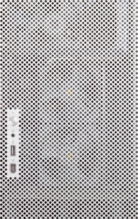 perforated sheet: Computer cover  with computer usb port