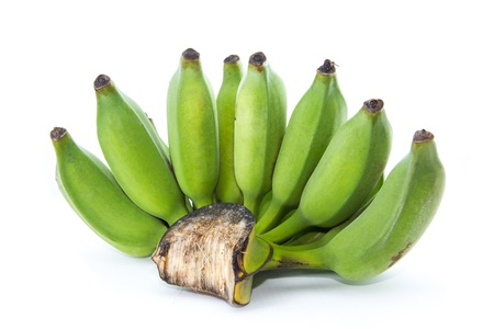 cultivated: Fresh cultivated banana, raw banana