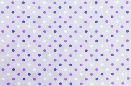 Seamless Purple and white dot pattern Fabric