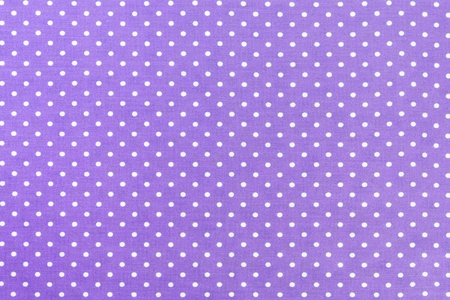 Purple Fabric and White Tiny Polka Dots Background