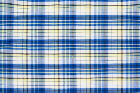 Checkered picnic tablecloth. Seamless pattern photo