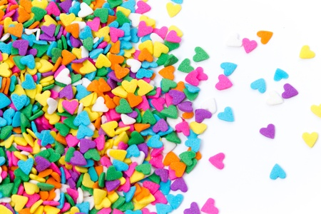Colorful Sugar Sprinkles Background
