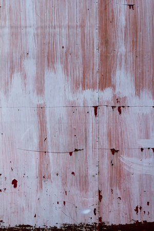 rustiness: Rusty metal plate  wall texture