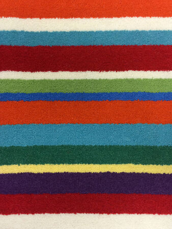 close-up of colorful carpets background texture Stock Photo