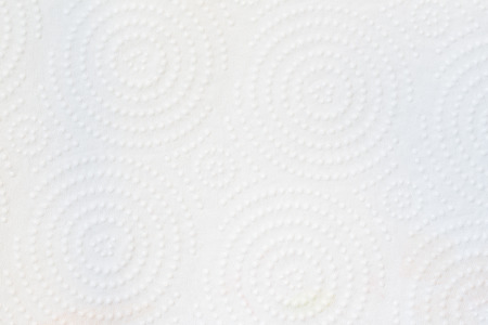 Texture of white tissue paper background photo