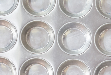 pan tropical: Close-up of Baking pan for muffins