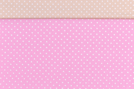 polka dot background: Polka dot fabric background and texture Stock Photo