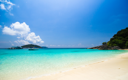 Paradise beach of Similan islands, Thailand photo