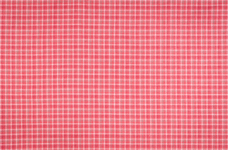 seamless retro red squared plaid tartan pattern fabric photo