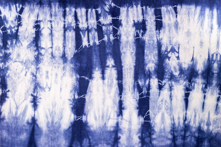 tie dyed fabric pattern for background and texture photo