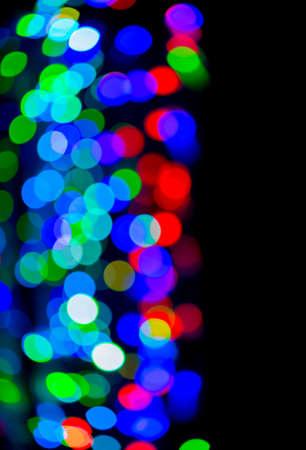 bokeh lights: Defocused bokeh lights use for background