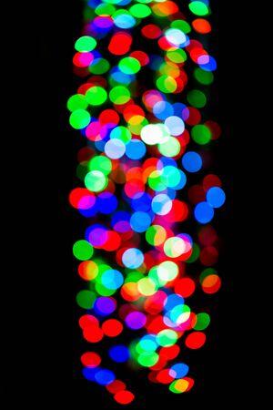 bokeh lights: Christmas shiny background with bokeh lights