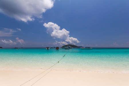 similan islands: Paradise beach of Similan islands, Thailand
