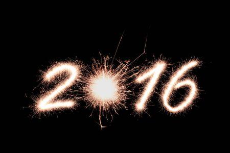 2016 writing sparkles firework