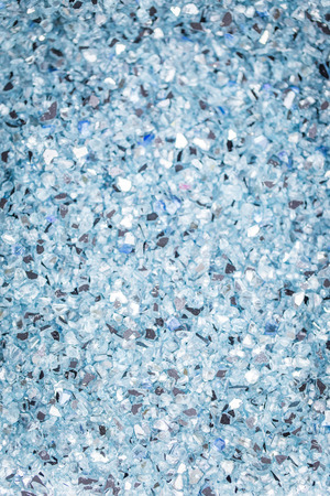 or shatter: Broken glass background and texture Stock Photo