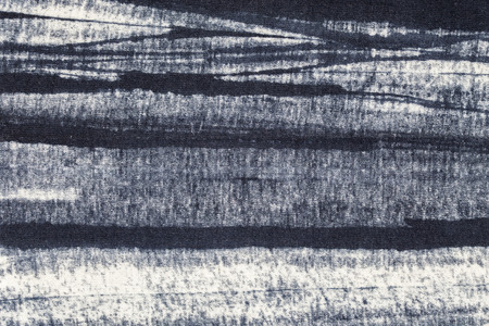 mottle: Abstract black and white Cotton fabric pattern texture as background