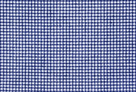 gingham: Blue and white gingham fabric background texture Stock Photo