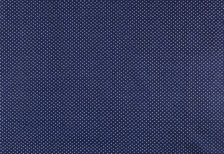 polka dot fabric: White dots over blue Polka dot fabric background and texture