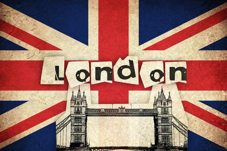 ブリッジとイギリス イギリス国の旗