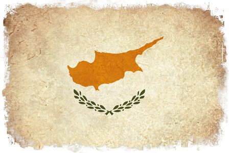 background texture: Cyprus grunge flag background illustration of european country
