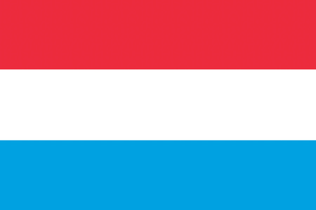 symbolics: Luxembourg flag illustration of european country