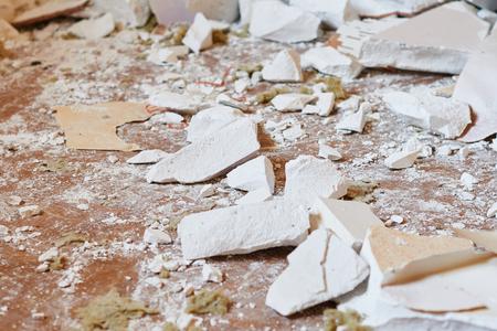 rubble: Rubble from demolition
