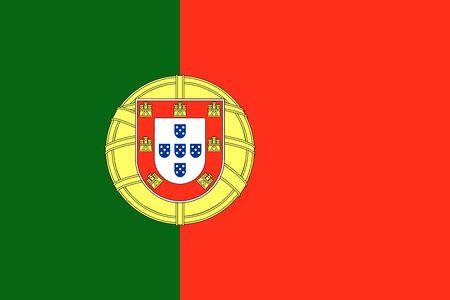 drapeau portugal: Portugal drapeau fond illustration du pays europ�en Banque d'images