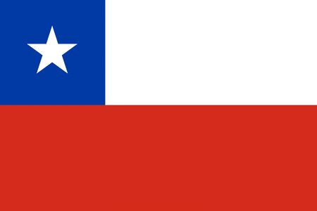 chile: Chile flag background illustration of country