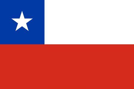 bandera de chile: Chile ilustración de fondo de la bandera del país