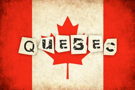 テキストを持つ国のカナダ グランジ背景イラスト