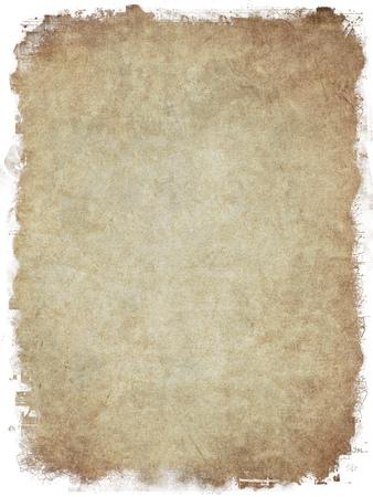 空のグランジ テクスチャ背景の古い紙の上 写真素材