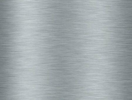 背景に反射と金属アルミニウム テクスチャ