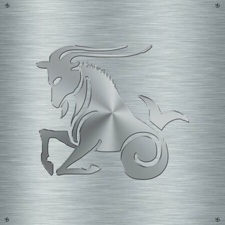 アルミニウム板の星座星座山羊座