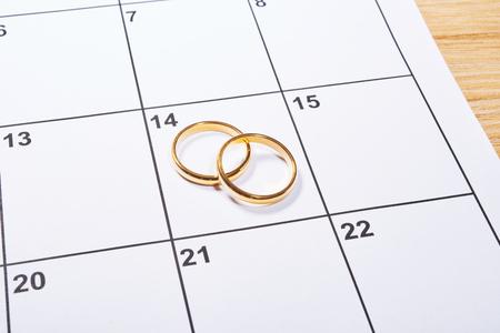 バレンタインの日の結婚指輪と議題