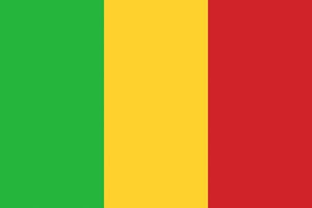 マリの旗アフリカの国のイラストを背景します。 写真素材