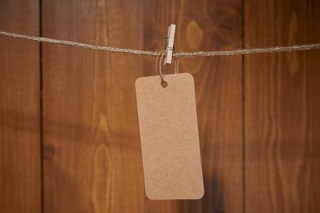 木製の壁にバレンタインデー カードの装飾