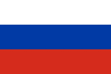 ロシア国旗の国のイラストを背景します。