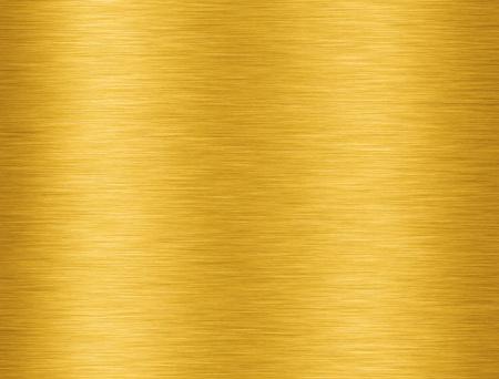 背景に反射とゴールデン アルミニウム テクスチャ